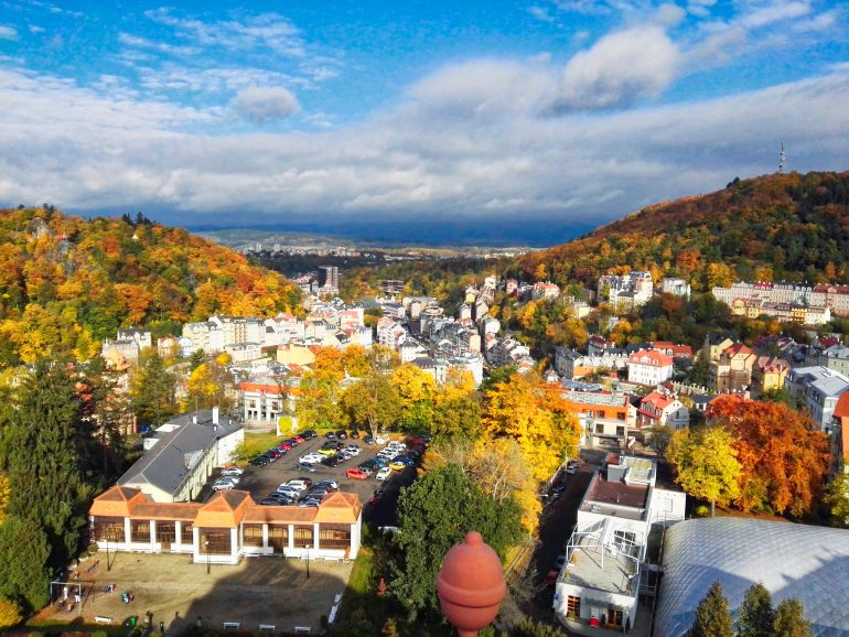 Views of Karlovy Vary