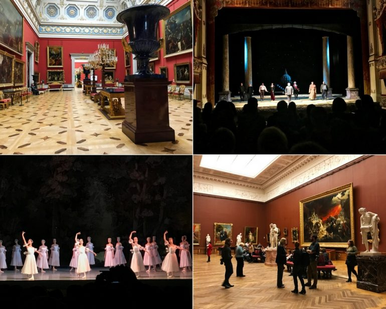 Hermitage Museum, Russian Museum, Tosca Opera and Russian Ballet