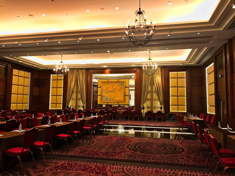 Banquet Hall at Corinthia Hotel St Petersburg