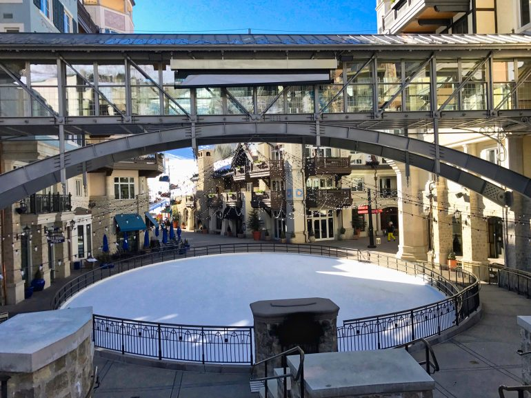 Vail Square Ice Skating Ring