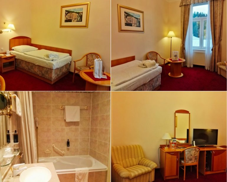 Superior Plus Single Room at Danubius Health Spa Resort Hvězda