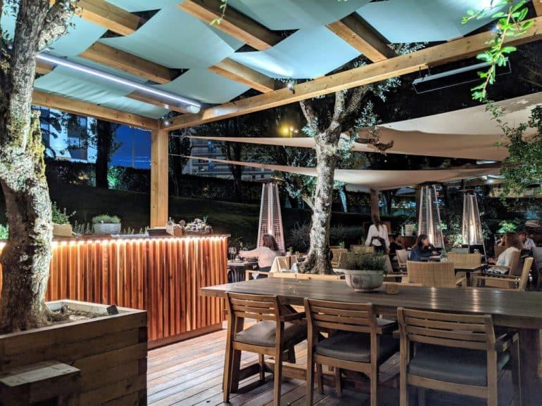 Erva Restaurant Terrace Corinthia Hotel Lisbon