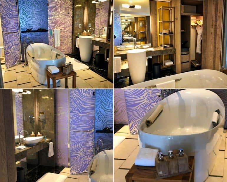 Shangri La's Mauritius - Deluxe Suite Bathroom