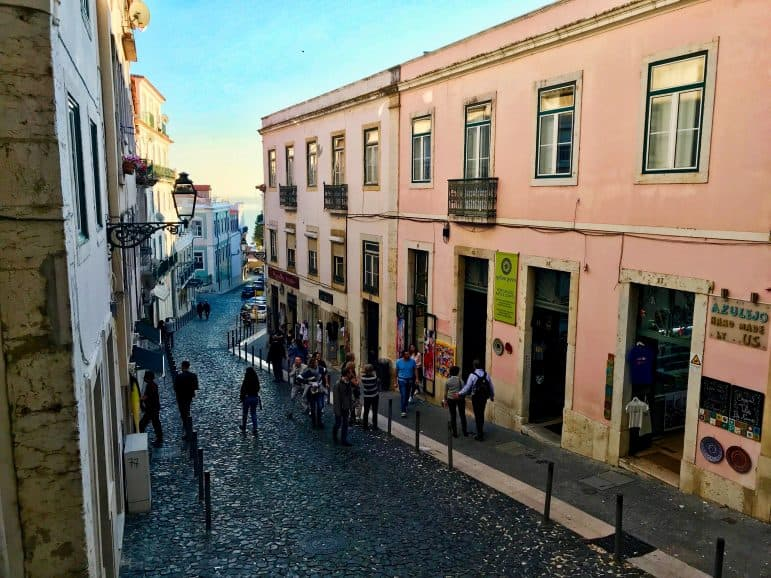 Alfama Neighborhood, Lisbon