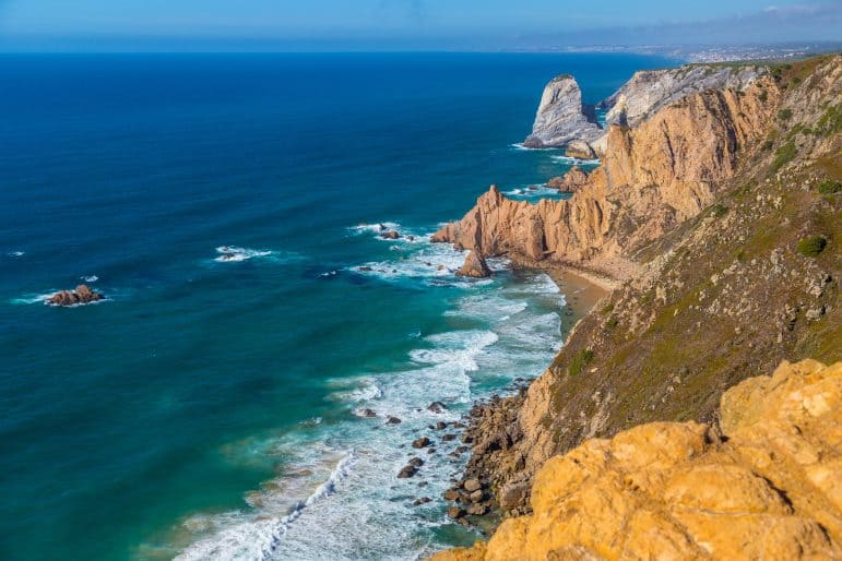 Cliffs of Cabo da Roca, Portugal