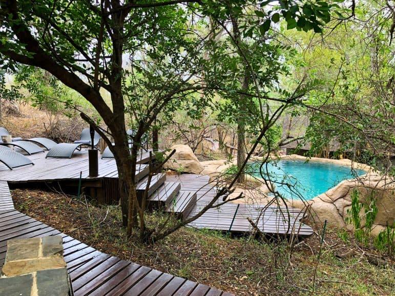 Pondoro Safari Game Lodge Pool