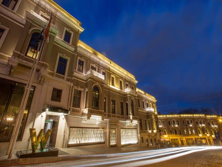 Photo Courtesy of W Hotel Istanbul