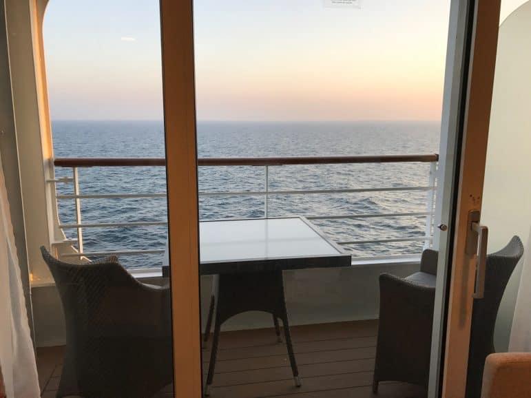 Veranda Stateroom Balcony - Azamara Journey