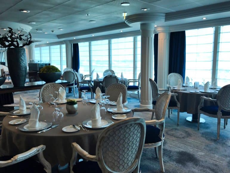 The Aqualina Restaurant - Azamara Journey