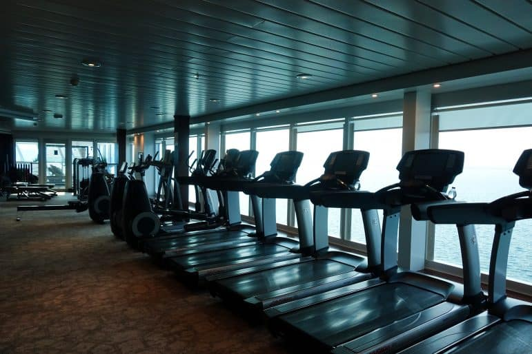 Fitness Center - Azamara Journey