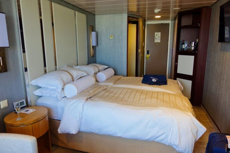Veranda Stateroom onboard the Azamara Journey