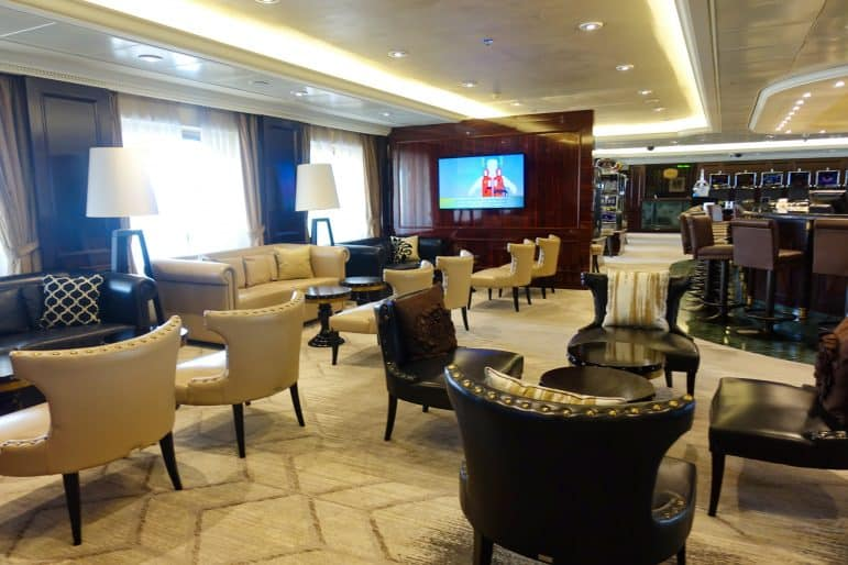 Casino Lounge Area - Azamara Journey