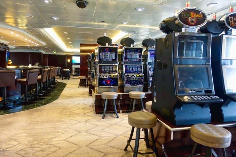 Casino Slot Machines - Azamara Journey