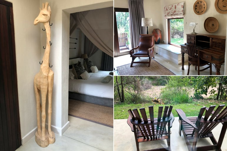 Sabi Sabi Bush Lounge Room Accommodations