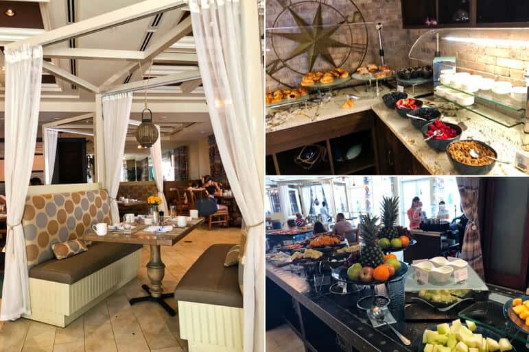 La Marea Breakfast Buffet Selections