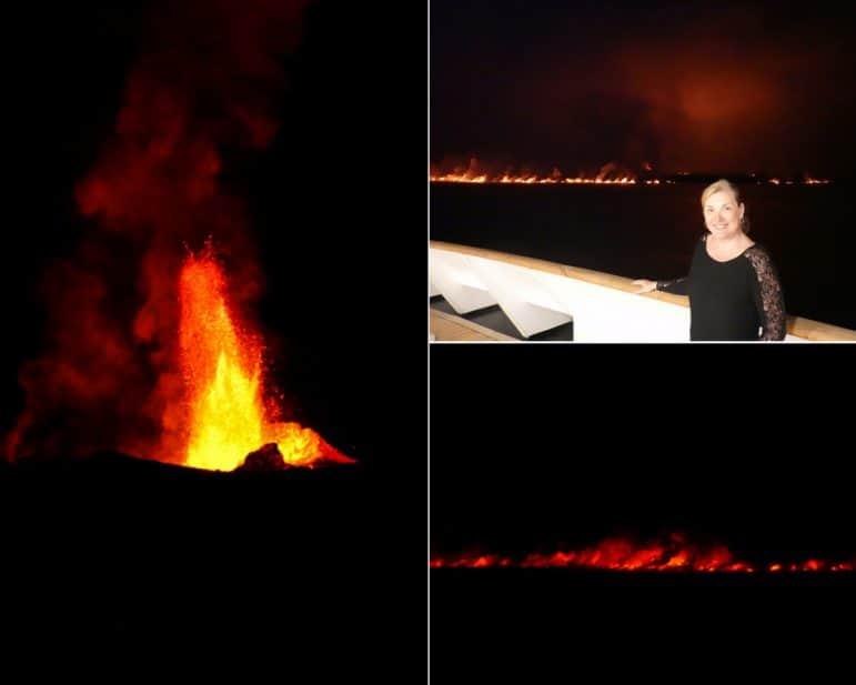 Sierra Negra Volcano Eruption - Isabela Island Galapagos