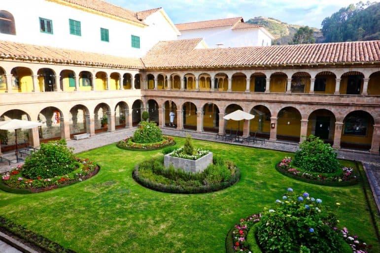 Belmond Monasterio Hotel Interior Courtyard