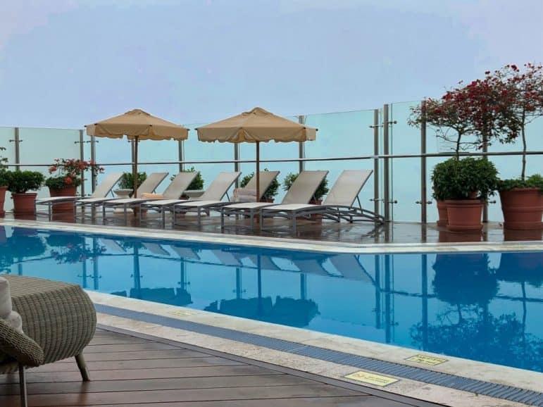 Belmond Miraflores Hotel Pool Area