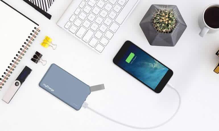 MyCharge HubPlus Portable Charger for Smartphones & Tablets