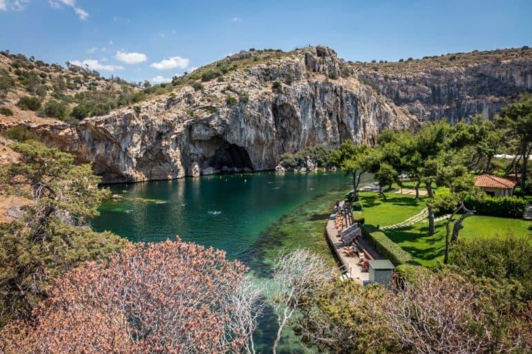 Lake Vouliagmeni, Greece