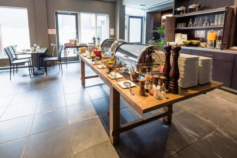 Breakfast Buffet - Photo Courtesy: ALDA Hotel Reykjavik
