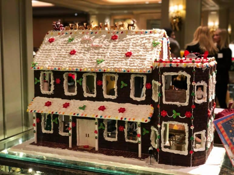 Gingerbread House at Windsor Court Hotel, New Orleans
