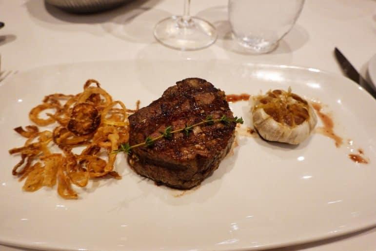 Admiral Steak & Seafood Restaurant - Filet Mignon