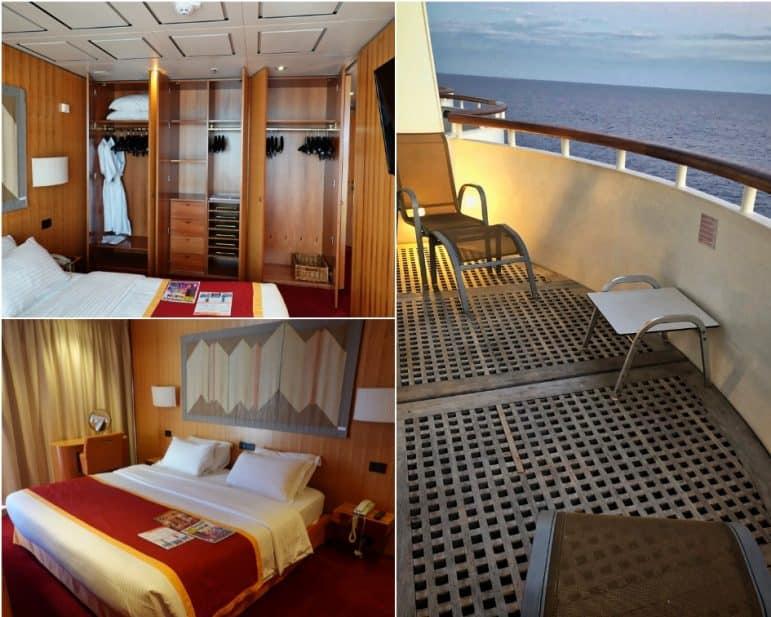 Grand Terrace Suite Bedroom & Balcony - Grand Classica