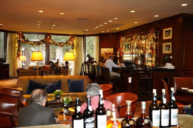 The Polo Club Lounge - Windsor Court Hotel, New Orleans