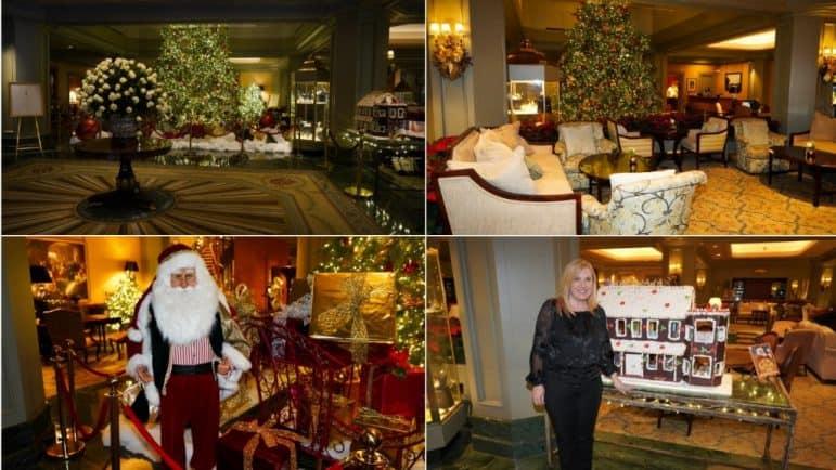Windsor Court Hotel Lobby Area