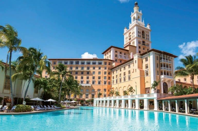 The Luxurious and Historic Biltmore Hotel & Resort in Coral Gables, Florida
