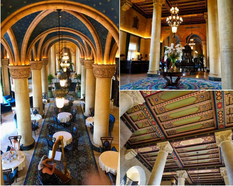 The Biltmore Hotel & Resort Lobby Reception Area