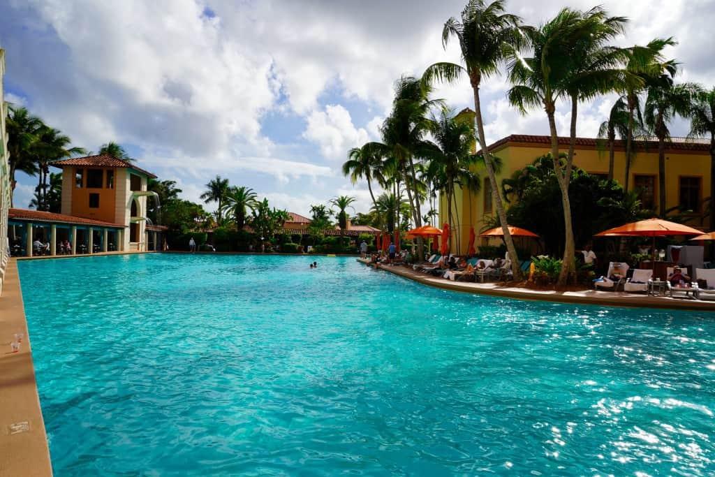 The Pool Area at The Biltmore Resort