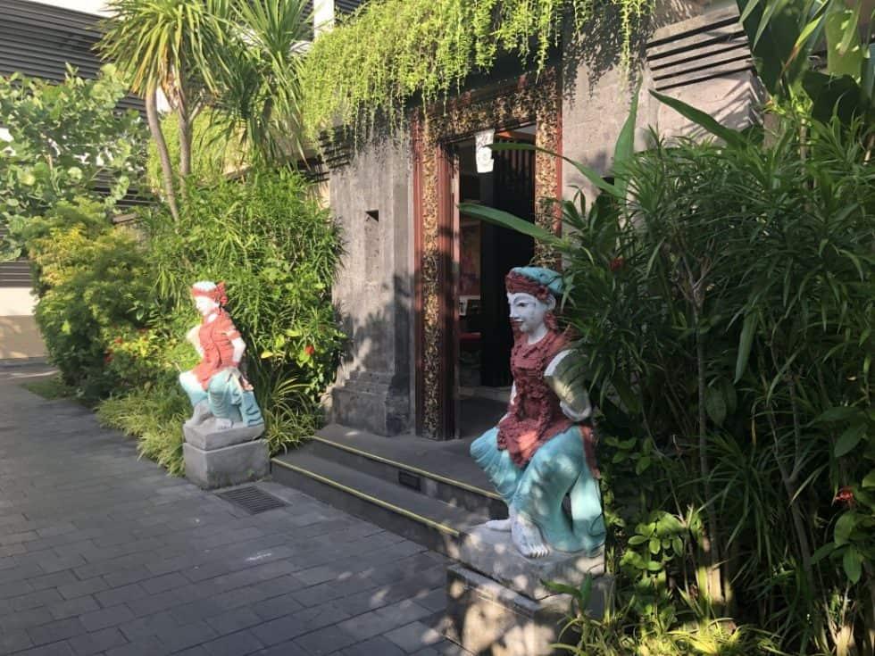 The Trans Resort Bali Spa Entrance