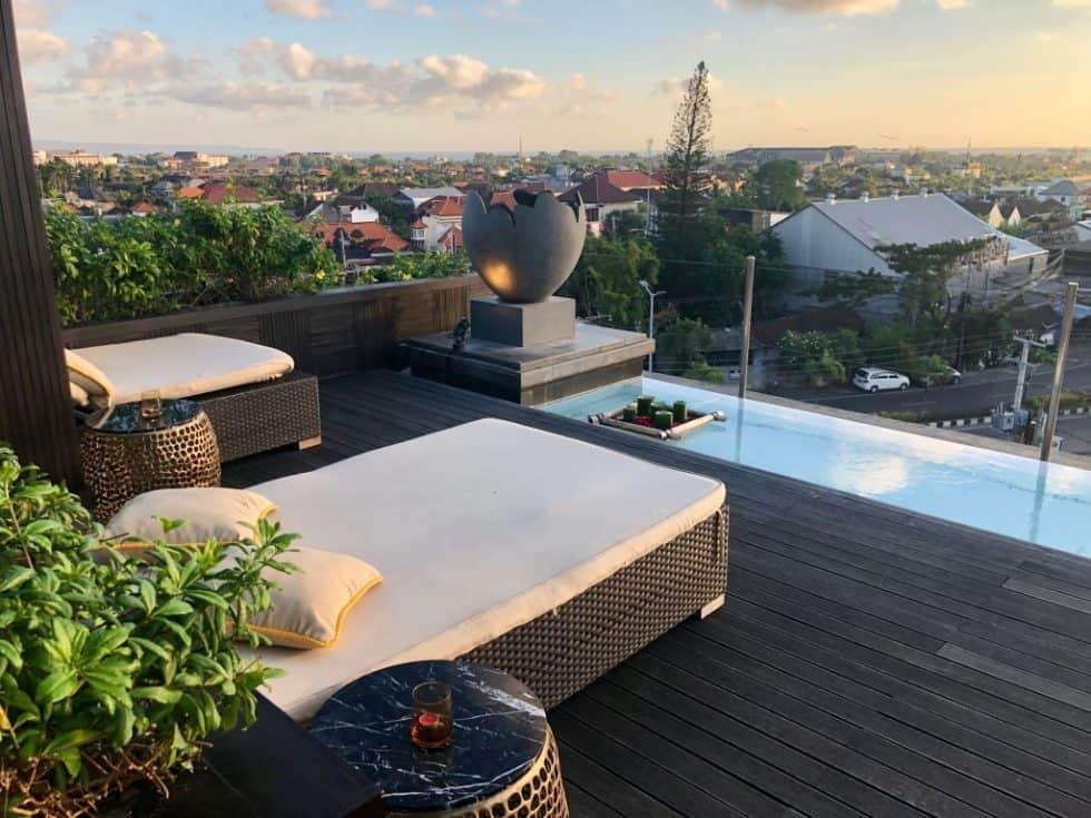18th Rooftop Bar City Views - The Trans Resort Bali