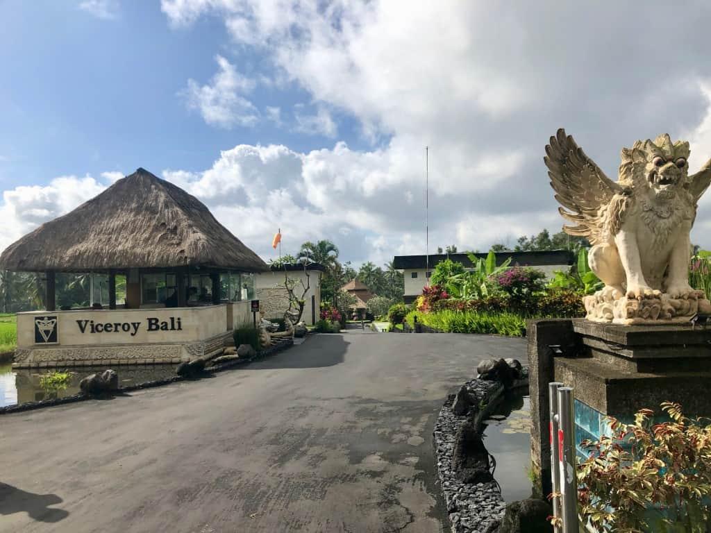 Entrance to Viceroy Bali Ubud