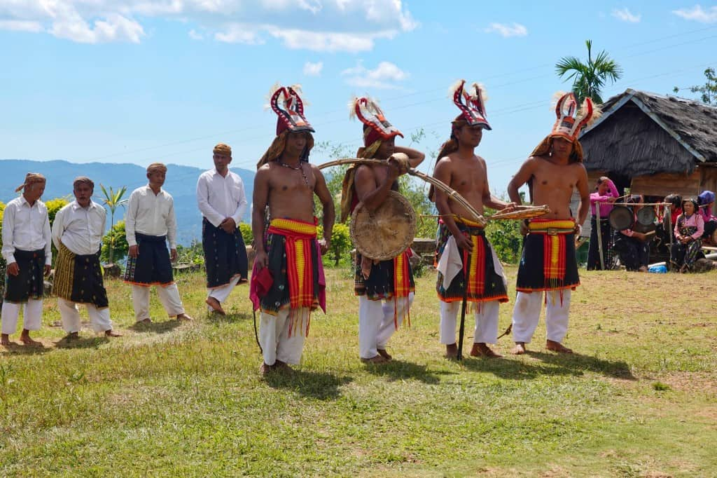 Casi Dance Performance by the Manggaraian Villagers in Flores Island