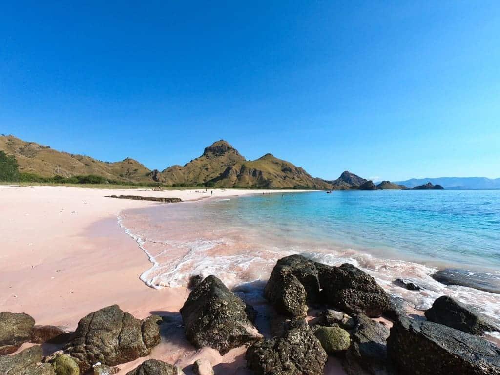 Padar Island Pink Beach, Indonesia