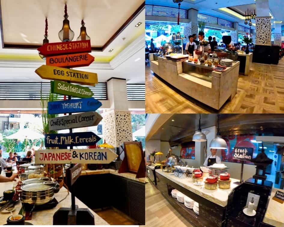 The Restaurant Breakfast Buffet - The Trans Resort Bali