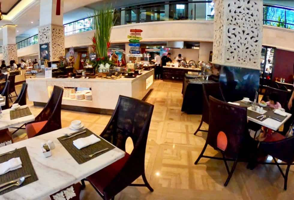 The Restaurant Breakfast Buffet Stations - The Trans Resort Bali