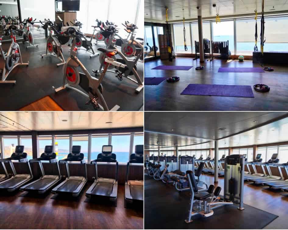Fitness Center - Holland America MS Koningsdam