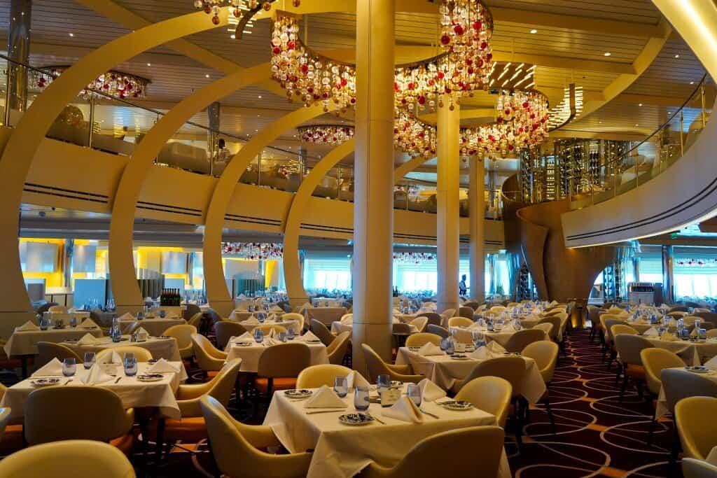 The Dining Room - Holland America MS Koningsdam