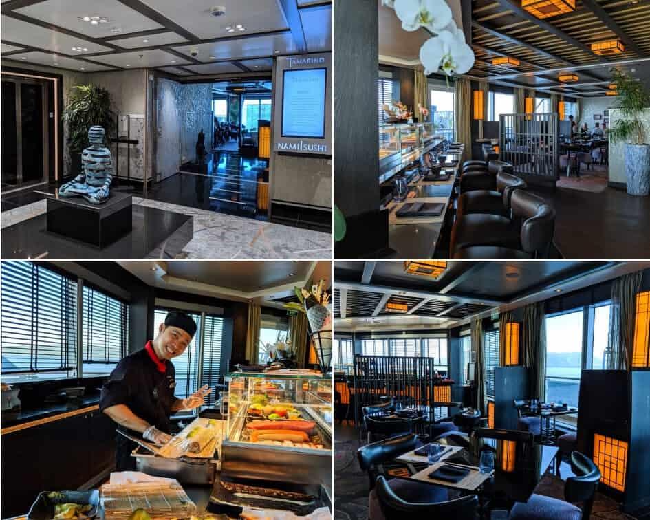 Tamarind Restaurant - Holland America MS Koningsdam
