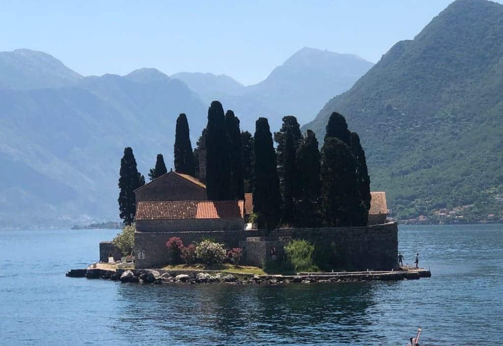St George Island, Kotor, Montenegro