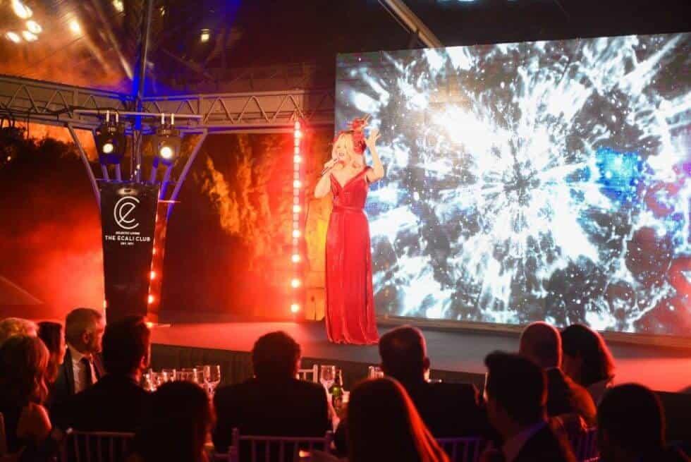 Soprano Singer Arina Domski performing