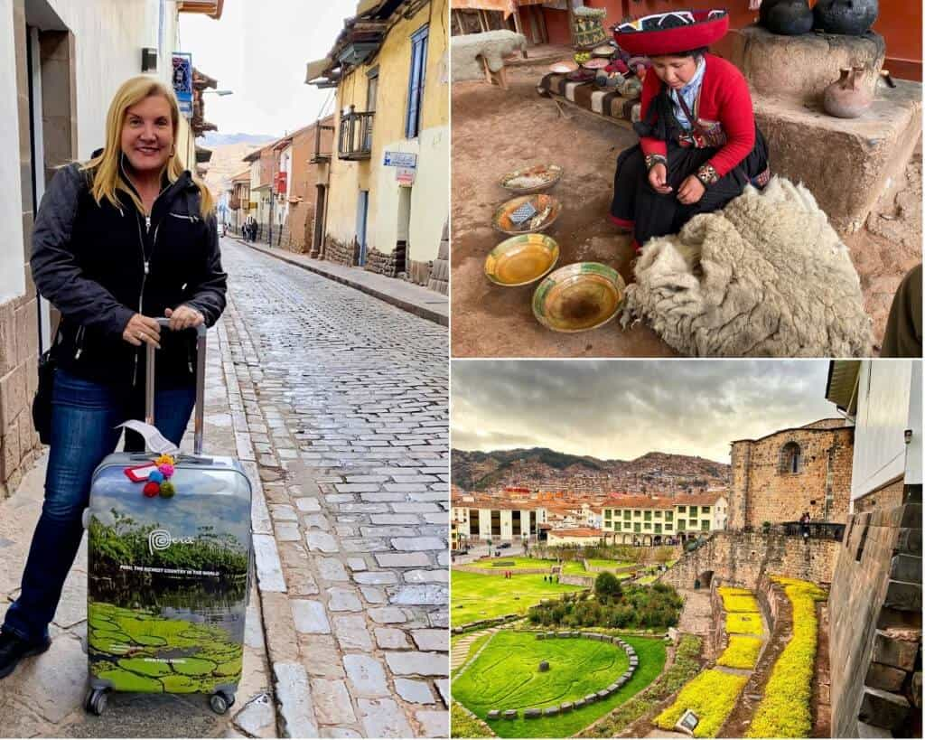 Enjoying some of my travel experiences in Cusco