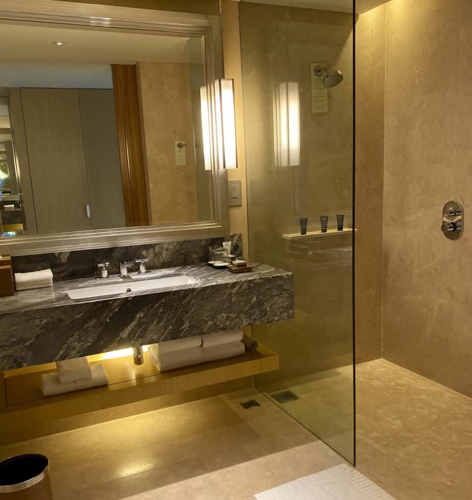 Deluxe King Garden Bathroom - Marina Bay Sands Hotel