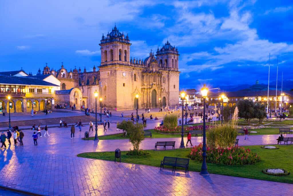 Cusco Cathedral in Plaza de Armas