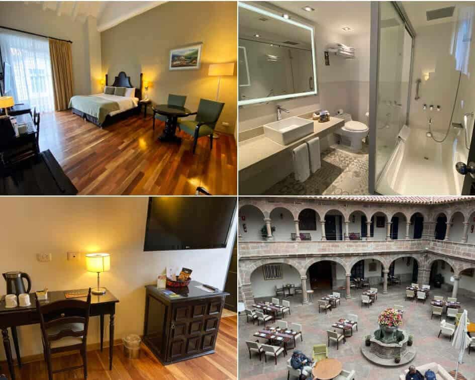 Novotel Cusco Hotel - Superior Room and Bathroom
