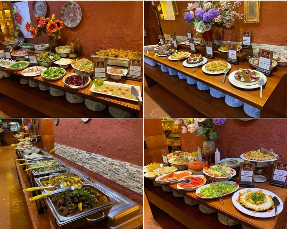 Buffet Selections in Tunupa Restaurant, Cusco